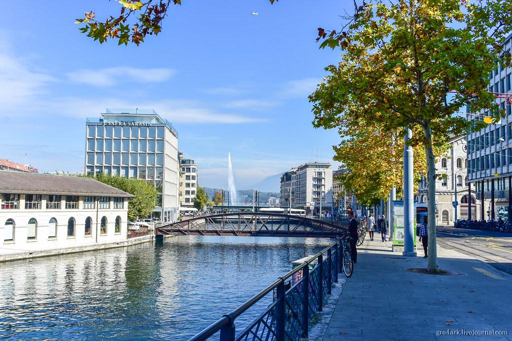 Женева – самый нешвейцарский город Швейцарии