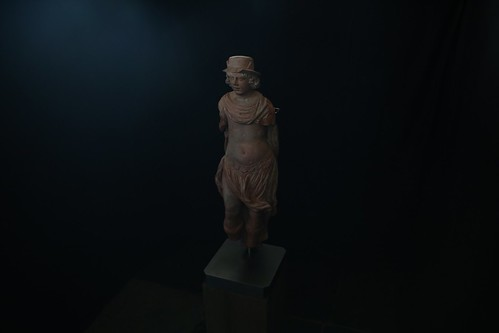 ENKHUIZEN - 13 okt Onthulling Romeinse god Mercurius