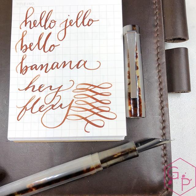 Unboxing Faggionato Petrarque Le Majestic Fountain Pen 2