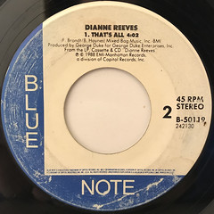 DIANNE REEVES:BETTER DAYS(REMIX)(LABEL SIDE-B)