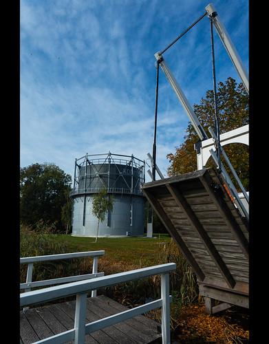 Gas holder in Dedemsvaart