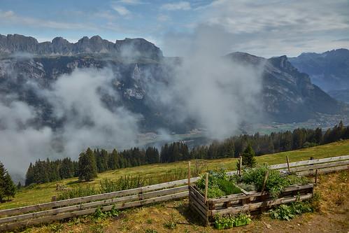 flumskleinberg cantonofstgallen switzerland 2018 saxli churfirstenmountainrange churfirsten mountain mountains clouds flumserbergsaxli ch
