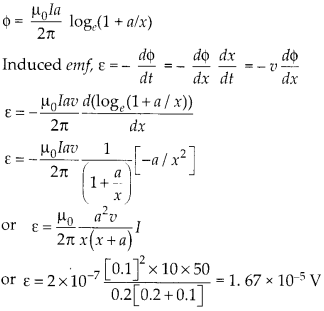 NCERT Solutions for Class 12 Physics Chapter 6 Electromagnetic Induction 45