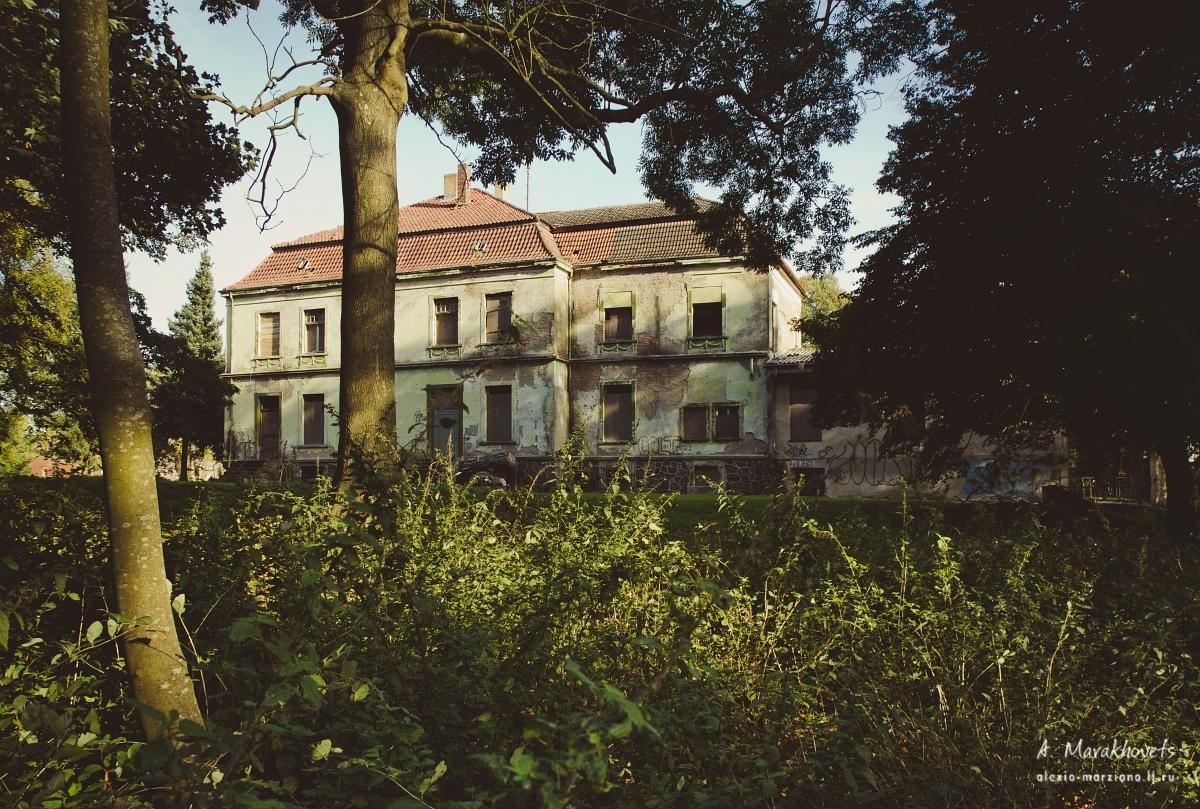заброшенный замок, Германия, abandoned Schloss, Germany