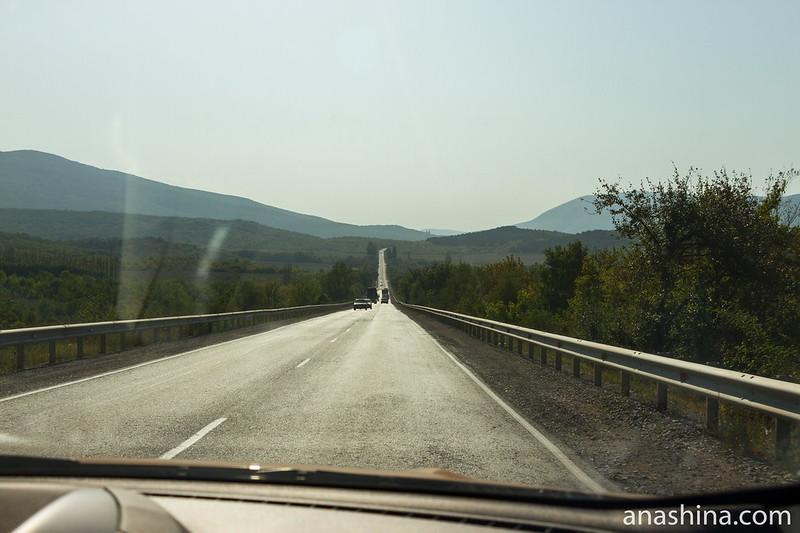 Дорога на Симферополь, Крым