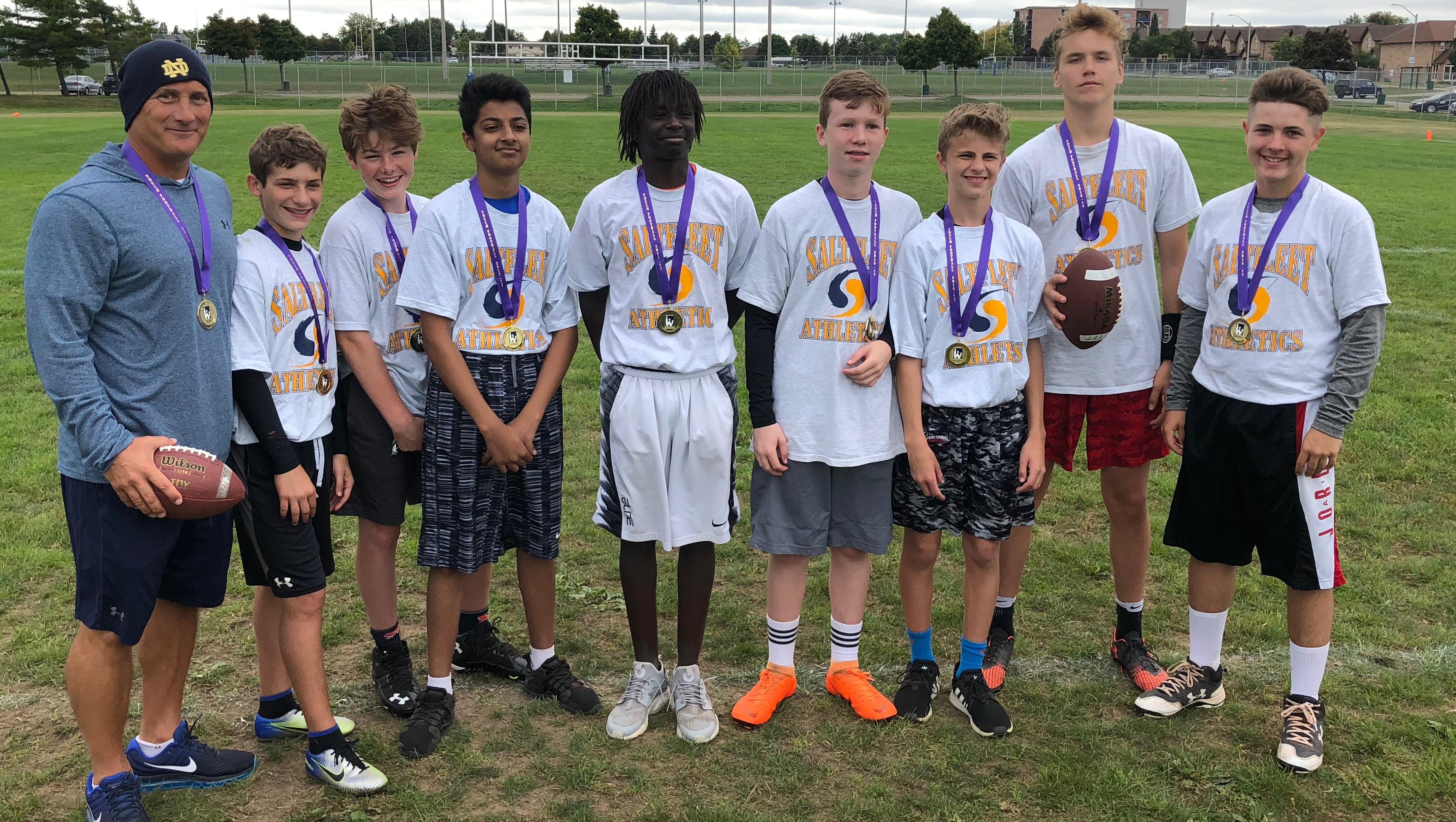 HWIAC Grade 9 Boys Touch Football Champions - Saltfleet Storm