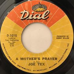 JOE TEX:I GOTCHA(LABEL SIDE-B)