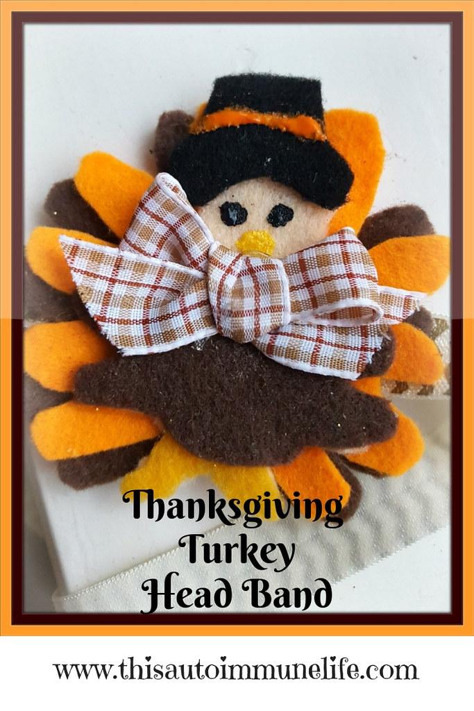 Thanksgiving Turkey Head Band Pinterest