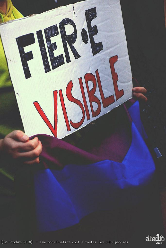 [23 Octobre 2018] – Une mobilisation contre toutes les LGBTIphobies