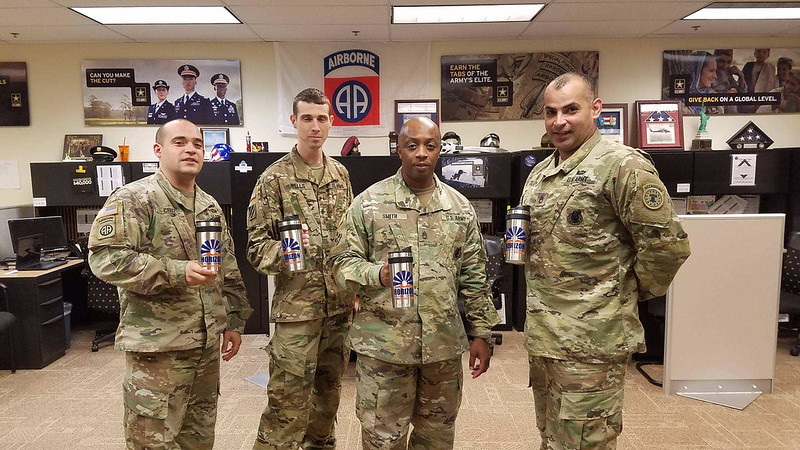 US Army recruiters visit 10/24/18