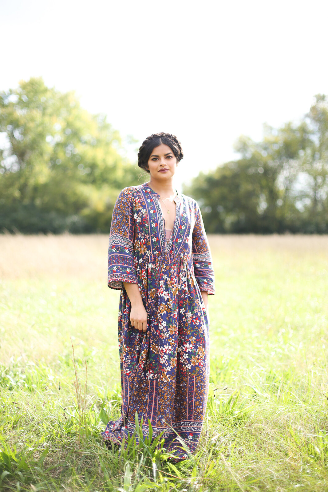 Priya the Blog, Nashville style blog, Nashville style blogger, Nashville fashion blog, Nashville fashion blogger, Vinnie Louise Nashville, ColourPop Lippie Stix in Lumiere, stackable necklaces, Fall outfit, how to wear a floral maxi dress, Rag & Bone Harrow booties, Fall outfit with floral maxi dress