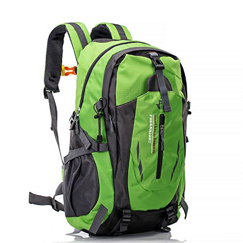 UBORSE 40L Hiking Backpack , Waterproof Daypack Ultra Lightweight Bag for Outdoor Trekking Camping Hiking Mountaineering Cycling Fishing and Traveling for Men and Women, Green Review