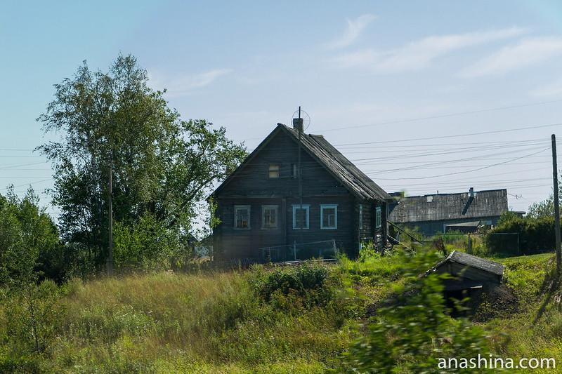 Старинный дом, Карелия