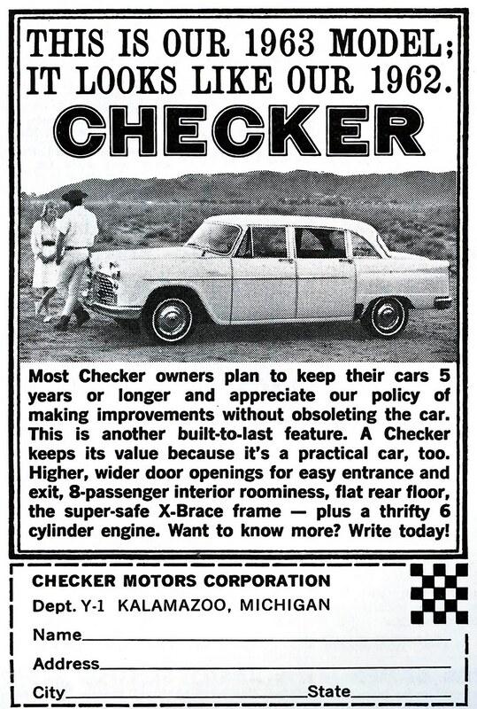 1963 Checker
