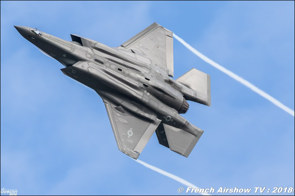 Lockheed Martin F-35 Lightning II EAA Oshkosh 2018