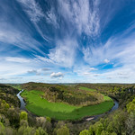 26. Aprill 2018 - 18:04 - An image from back in April, taken from the famous Yat Rock viewpoint above a meander in the River Wye. I took multiple images and stitched them together to make sure I got plenty of a great cloudscape in the final composition.