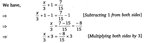 NCERT Solutions for Class 8 Maths Chapter 2 Linear Equations In One Variable 14