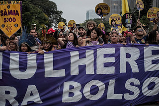 Marchers want to create spaces of conversation, debate, resistance, and solidarity - Créditos: Julia Dolce/Brasil de Fato