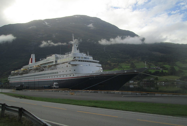 SS Black Watch Berthed, Olden, Norway
