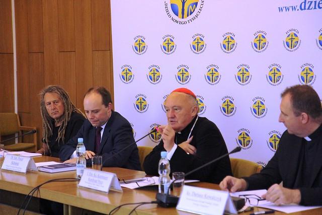 Konferencja prasowa zapowiadająca XVIII Dzień Papieski, Warszawa, 4 X 2018