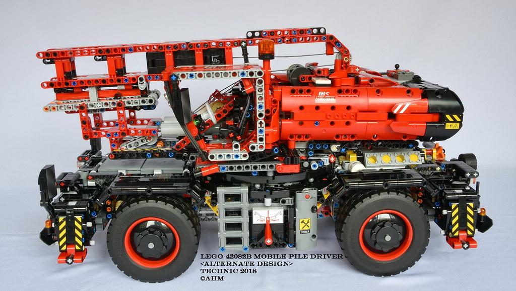 LEGO 42082B Mobile Pile Driver