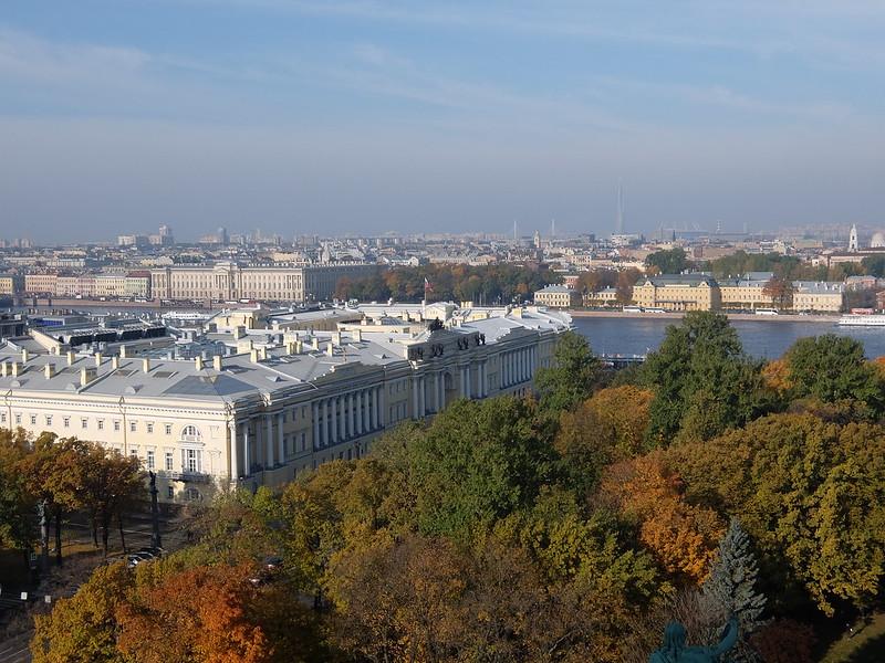 Санкт-Петербург - Исаакиевский собор - Вид с коллонады