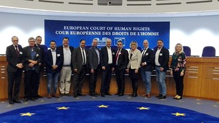Europaausschuss in Straßburg im Oktober 2018