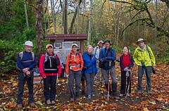 Leaving the Big Tree Ridge trailhead