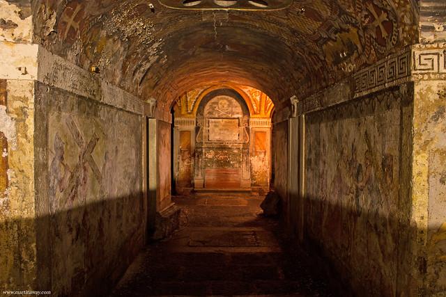 Cripta della chiesa di San Simeon Piccolo