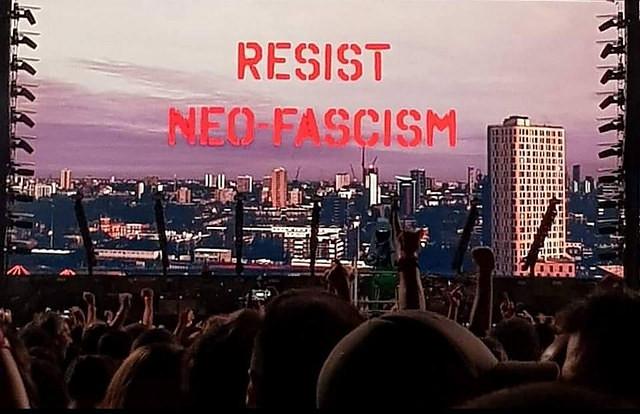 Roger Waters, ex Pink Floyd, protesta contra Bolsonaro en show en São Paulo: Resistan
