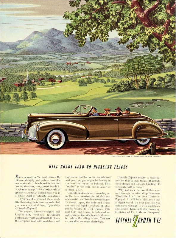 1940 Lincoln Zephyr V-12