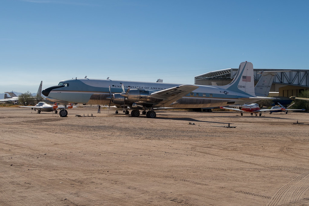 Old Air Force One plane at Pima Air and Space Museum