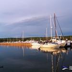 Harbored Sailboats