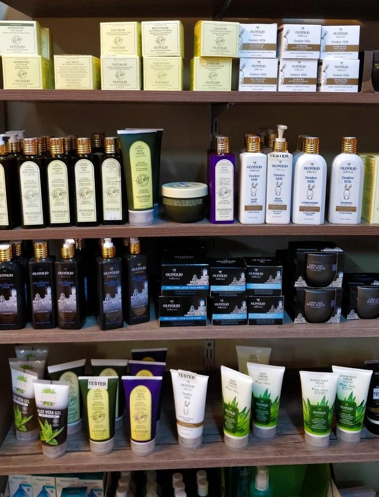 kreeta shoppailu kosmetiikka georgioupolis hania