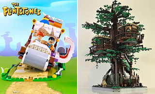 2018 LEGO Ideas First Wave Contest Winners~ Treehouse and The Flintstones Approved!