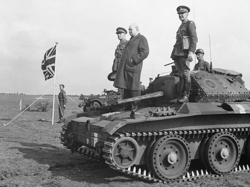 Cruiser tank Mk V or A13 Mk III Covenanter