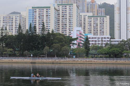 Shing Mun River side walk