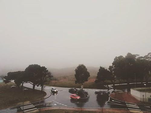 Otoño. Tarde de lluvia. #rain #coruña #otoño #fall #outono #nubes #clouds