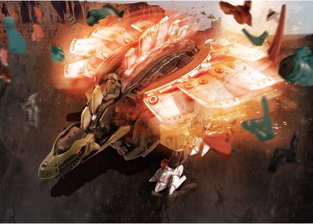 TAKARA TOMY 洛伊德新系列《ZOIDS WILD》ZW14 偵察劍龍(ゾイドワイルド ステゴゲーゼ)