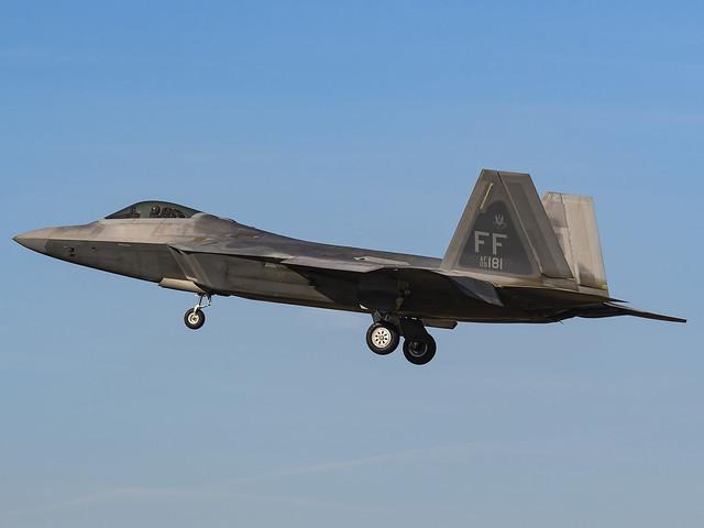 United States Air Force | Lockheed Martin F-22A Raptor | 09-4181