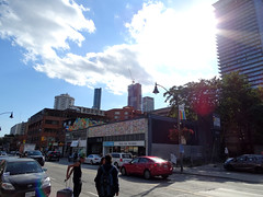 YC Condos (460 Yonge Street, Canderel Stoneridge, 63s, Graziani + Corazza Architects) + Aura: Residences of College Park III (Canderel Stoneridge, 78s, Graziani + Corazza Architects)