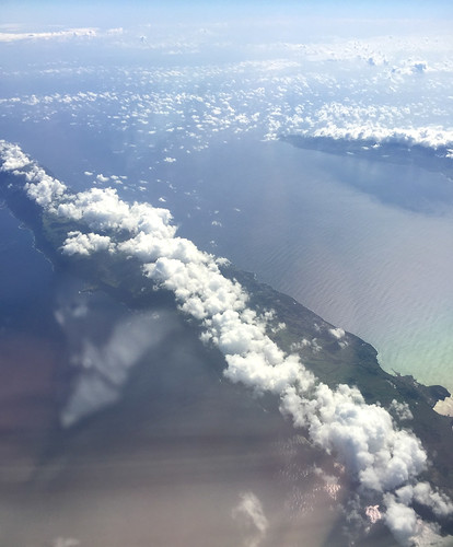 20a - Überflug Sao Jorge - Azoren / Flight over Sao Jorge - Azores