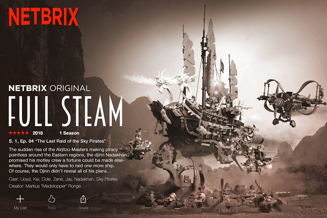 """""""Full Steam"""" S. 1/ Ep. 4 """"The Last Raid of the Sky Pirates"""""""