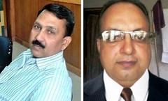 डॉ. नियामत अली सिद्दिकी (बाएं) और डॉ. कृष्णामूर्ति (दाएं)