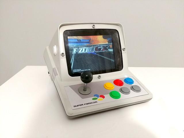 Bartop Minitel Super Famicom de Prog-Amateur