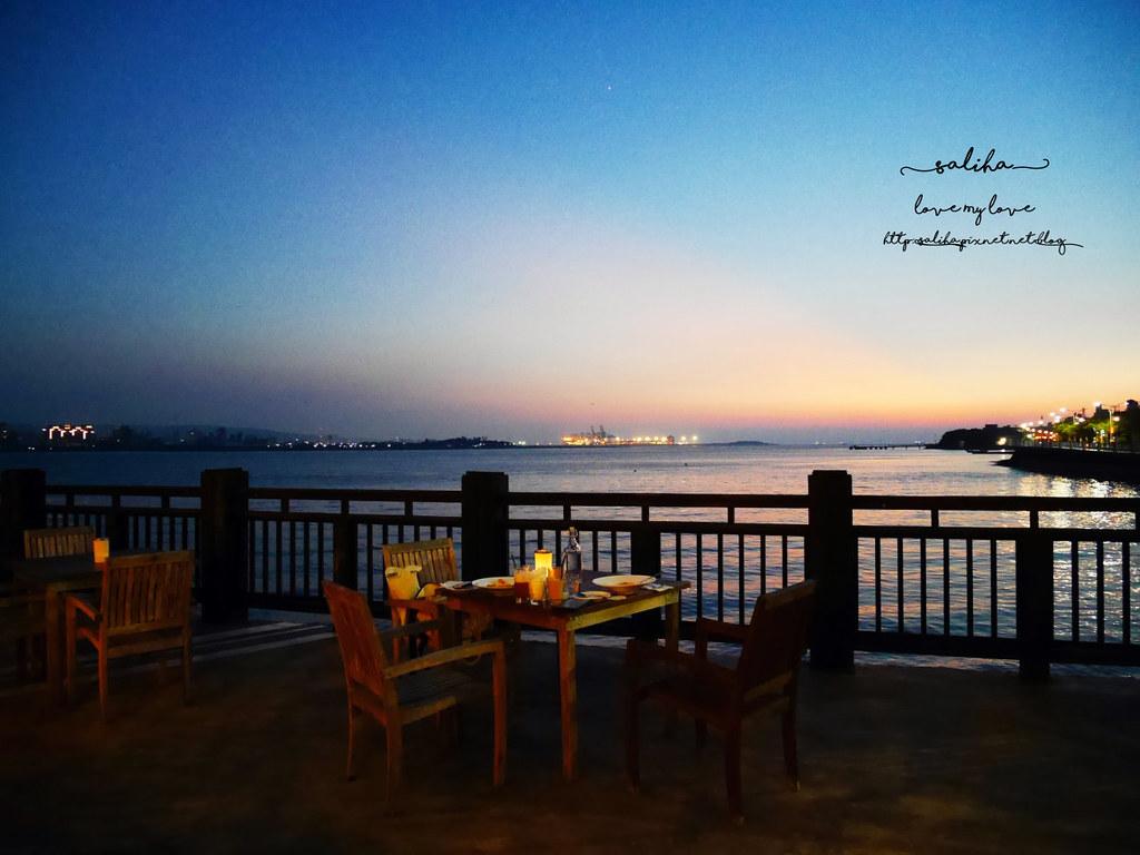 新北淡水老街夜景夕陽景觀餐廳咖啡館推薦la villa cafe (9)