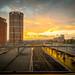 Sunset at Leeds Station