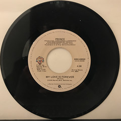 PRINCE:I WANNA BE YOUR LOVER(RECORD SIDE-B)