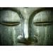 Bronze Buddha at Batsford Arboretum.
