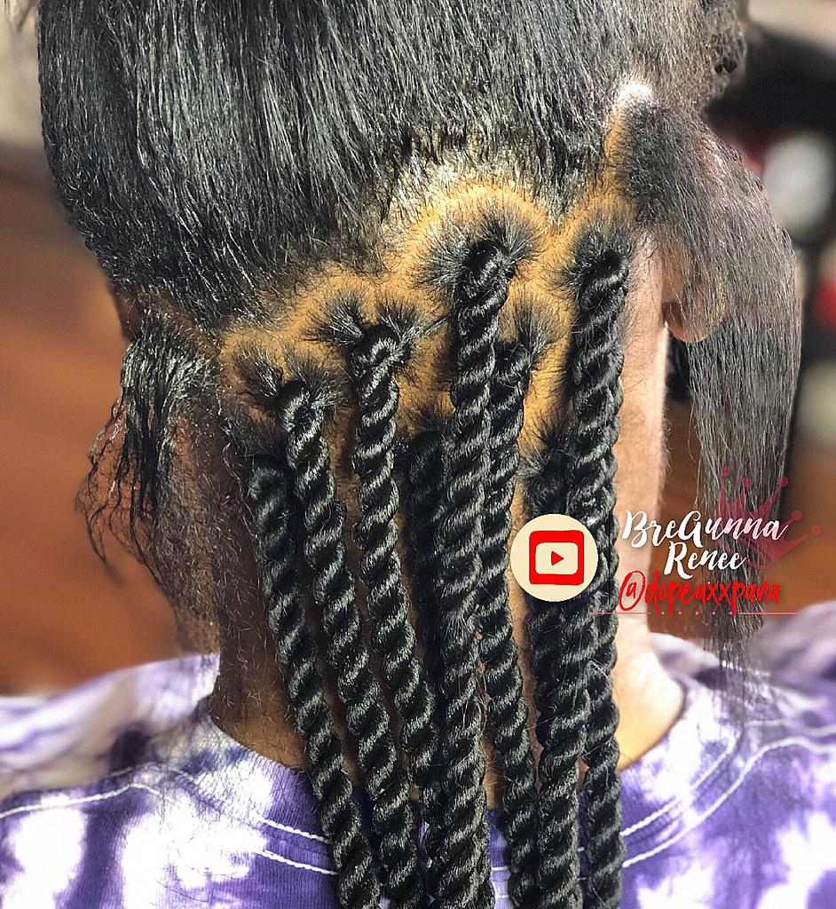 dopeaxxpana ebena braids